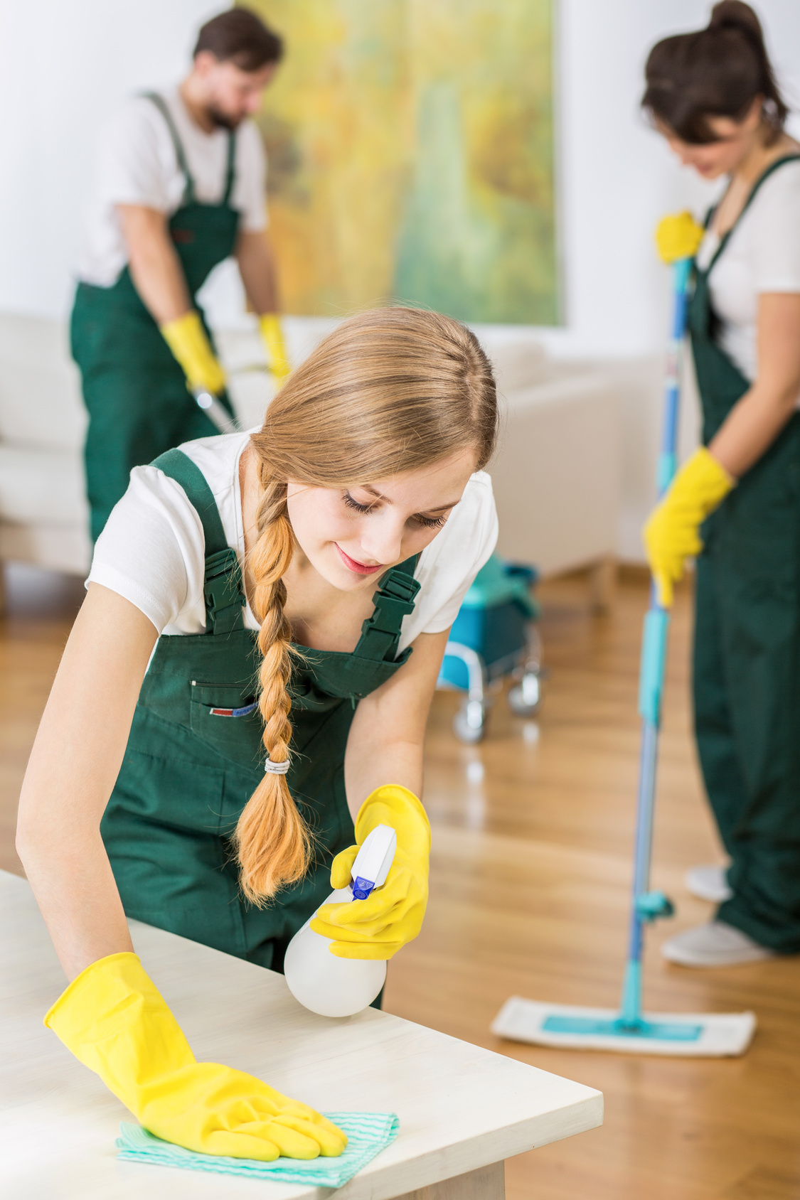 Shop and Restaurant Cleaning