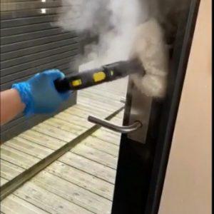 speam cleaning for coronavirus
